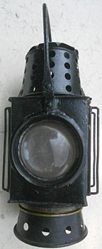 click for 13K .jpg image of West Clare handlamp