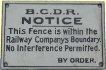 click for 10K .jpg image of BCDR enamel fence