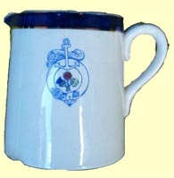click for 8K .jpg image of Belfast Steamship Co. milk jug