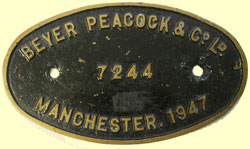 click for 12.7K .jpg image of GNR BP makers plate