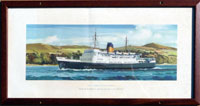 click for 6.6K .jpg image of BR Duke of Lancaster carriage print