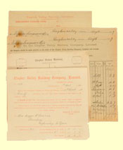 click for 7K .jpg image of Clogher Valley Railway documents