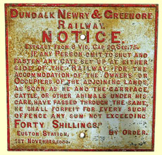 click for 30K .jpg image of DNGR gate notice