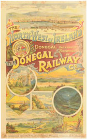 click for 21K .jpg image of Donegal poster