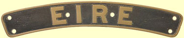 click for 9K .jpg image of Eire nameplate