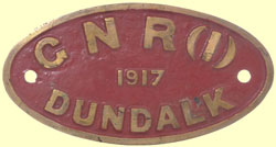 click for 9K .jpg image of GNRI makers plate