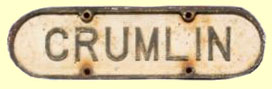 click for 7K .jpg image of GNRI Crumlin plaque