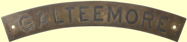 click for 7K .jpg image of GNR nameplate