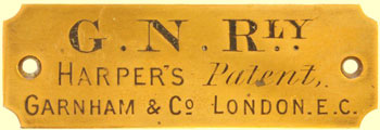 click for 14K .jpg image of GNR Harpers plate