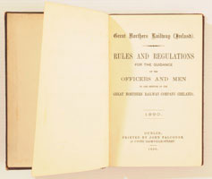 click for 8K .jpg image of GNRI 1890 Rule Book