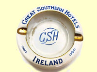 click for 8K .jpg image of a GS Hotels ashtray