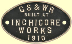 click for 12K .jpg image of GSWR makers plate