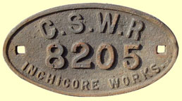 click for 12K .jpg image of GSWR wagonplate