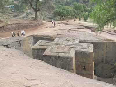 9k .jpg image of St. George church in Lalibela