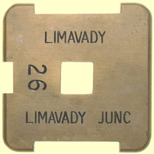 click for 10K .jpg image of Limvady single line tablet