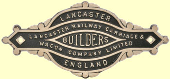 click for 16K .jpg image of LLSR makers' plate