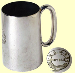 click for 12K .jpg image of MGWR tankard
