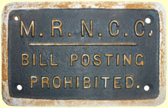click for 14K .jpg image of MRNCC bill poster enamel