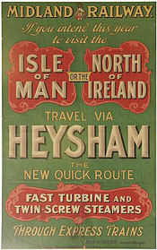 click for 25K .jpg image of MR Heysham poster