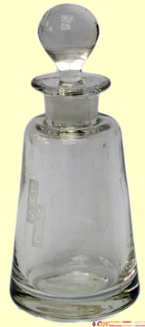 click for 10K .jpg image of NCC vinaigrette bottle