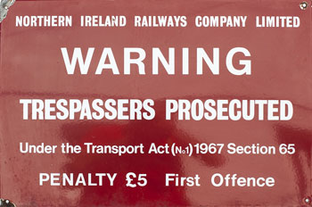 click for 26K .jpg image of NIR 1967 trespass
