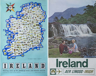 click for 34K .jpg image of Irish posters