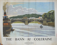 click for 10K .jpg image of Coleraine poster