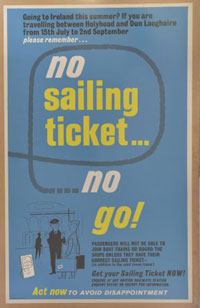 click for 17K .jpg image of BR Sailing Ticket poster