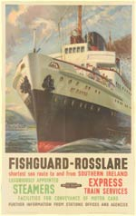 click for 8.2K .jpg image of Fishguard-Rosslare poster