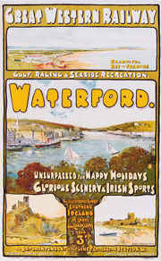 click for 28K .jpg image of Waterford poster