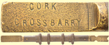 click for 21K .jpg image of Cork-Crossbarry staff