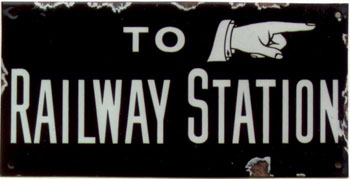 click for 16K .jpg image of 'To railway sign'.