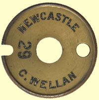 click for 11K .jpg image of 'Newcastle-C.wellen' tablet