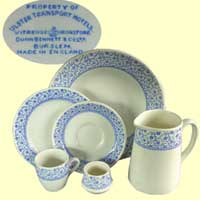 click for 5.6K .jpg image of UTA crockery