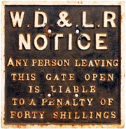 click for 13K .jpg image of WDLR gate